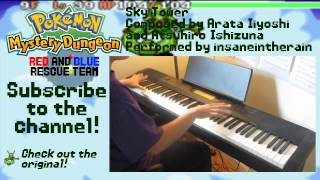 Sky Tower - Pokemon Mystery Dungeon: Red/Blue Rescue Team [Piano Cover]