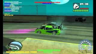 Rachas carros Velozes e furiosos - Mta San Andreas (HD)