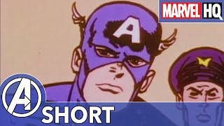 Cap Loves Marshmallow Burritos! | Marvel Mash-Ups: Captain America | Red Skull