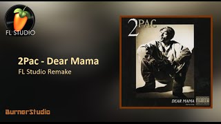 2Pac - Dear Mama (Instrumental Remake)