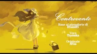 Controvento ~Arisa cover on piano~