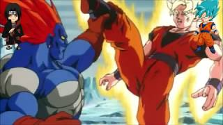 teamfourstar - android 13 punches goku in the D*ICK