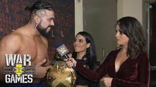 Reacciones de Andrade 'Cien' Almas tras NXT Takeover: WarGames