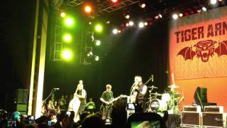 Tiger Army Feat Jade Pudget- Boys Don't Cry (Live @ The Grove 10/29/11)