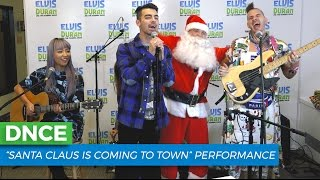 """DNCE - """"Santa Claus is Coming to Town"""" Cover 
