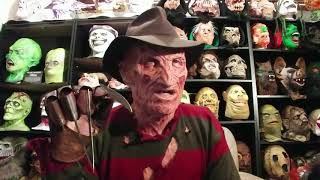 A Message From Freddy Krueger !