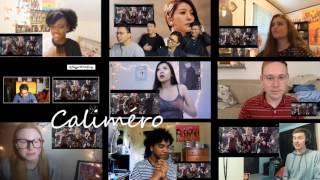 Reaction mashup BoA - Camo MV