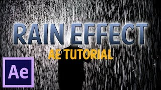Rain Effect│Adobe After Effects Tutorial