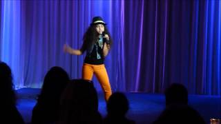 9 year Old Brianna Leah Cover Square Biz  Teena Marie