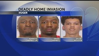Three suspects arrested in deadly home invasion