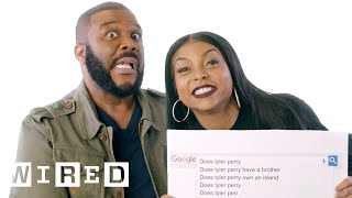 Taraji P. Henson & Tyler Perry Answer the Web's Most Searched Questions   WIRED