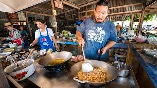 Amazing Thai Food - Best JUNGLE FOOD in Chonburi, Thailand! | สุดยอดอาหารป่า