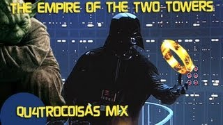 LORD OF THE STARS - The Empire of the Two Towers (Star Wars vs Lord of the Rings Mashup)