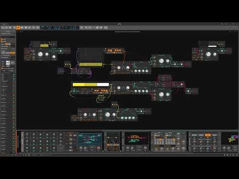 Generative-03-09-2019 - Ambient Bleeps - Bitwig Studio #Gridnik