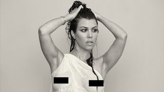 Kourtney Kardashian Nude Pregnancy Photos Released