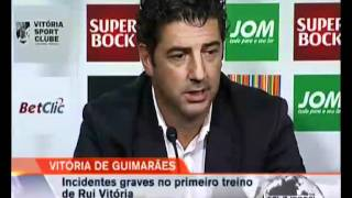 Agressoes adeptos Guimaraes - vergonha de uns adeptos de merda