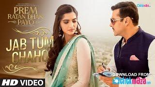 Jab Tum Chaho VIDEO Song | Prem Ratan Dhan Payo | Salman Khan, Sonam Kapoor