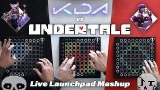 POP/STARS vs MEGALOVANIA // Launchpad Mashup