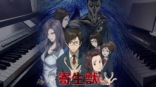 Kiseijuu: Sei no Kakuritsu (Parasyte) - Bliss (Ep 1 BGM) Piano Collab Cover Feat. ZackyAnimePiano~