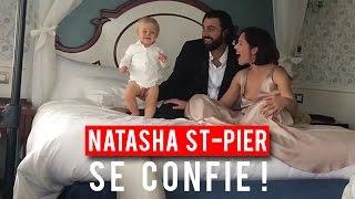 Natasha St-Pier présente son bébé miraculé ! width=