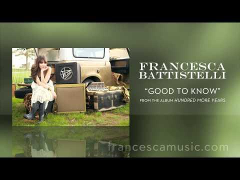 francesca-battistelli-listen-to-good-to-know-francescabattistelli