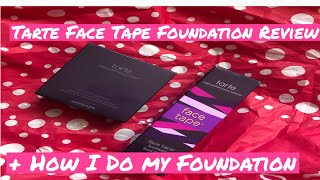 Tarte Face Tape Foundation Review+How I Put on my Foundation!