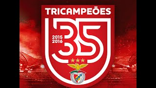 SL Benfica TRICAMPEÃO 2015/2016 | Bailando