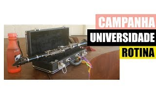 Universidade, rotina de estudo - Diário de uma Clarinetista #1
