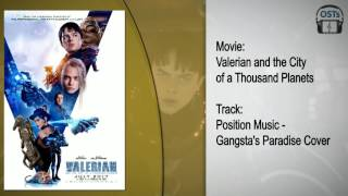Valerian | Soundtrack | 2WEI - Gangsta's Paradise (Position Music Cover)