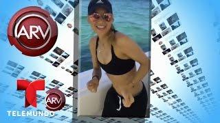 Ana Kournikova baila al ritmo de Enrique Iglesias | Al Rojo Vivo | Telemundo