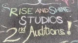Rise & Shine Studios | 2nd Auditions [CLOSED]