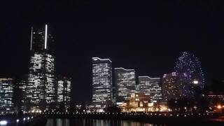 Permainan lampu keren abis !!! Dance lamp //Cosmo world japan-yokohama