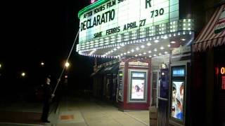 Moment in America - Cinema Worker Sets Titles Letter by Letter