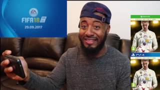 FIFA 18 Reveal Trailer | Fueled By Ronaldo Reaction !!!