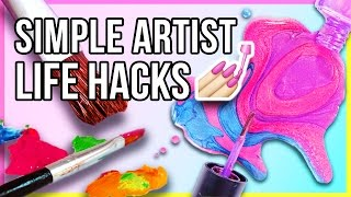 🎨 Top 6 Simple Life Hacks for Artists & DIYers to Make Your Life Easier (And You Might Not Know!)