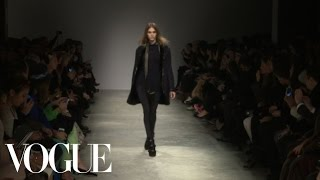 Isabel Marant Ready to Wear Fall 2013 Vogue Fashion Week Runway Show