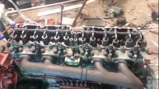 AEC AV760 Engine Rebuilt & Running