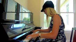 Lara plays the Xena Warrior Princess theme on piano