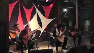 Herencia Latina (Paco Pena) performed by Stefan Roach & Band (Fiesta Plaza 2012)
