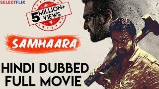 Samhaara - Hindi Dubbed Full Movie | Chiranjeevi Sarja | Hariprriya | Kavya Shetty