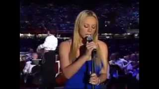 Mariah Carey - The Star-Spangled Banner Live @ Superbowl 2002 [HD]