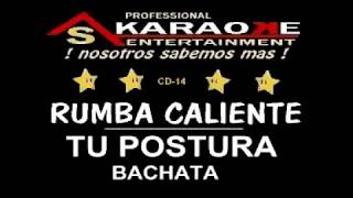 KARAOKE  RUMBA CALIENTE TU POSTURA CD 14