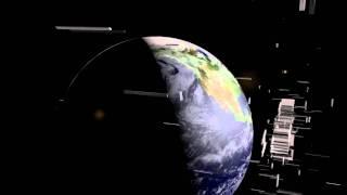 Text Building Near Earth | Intro Template | Cinema 4D