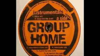 Group Home - Up Against The Wall (Instrumental)