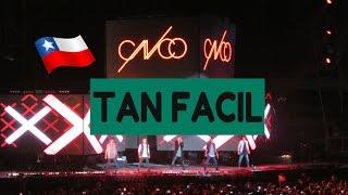 CNCO en Chile-Tan Fácil
