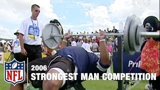 Strongest Man Competition (2006) | NFL Pro Bowl Skills Challenge width=