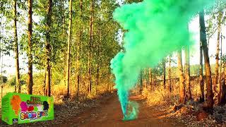 Smoke Color - Fumaça Colorida Solo 75mm  Verde