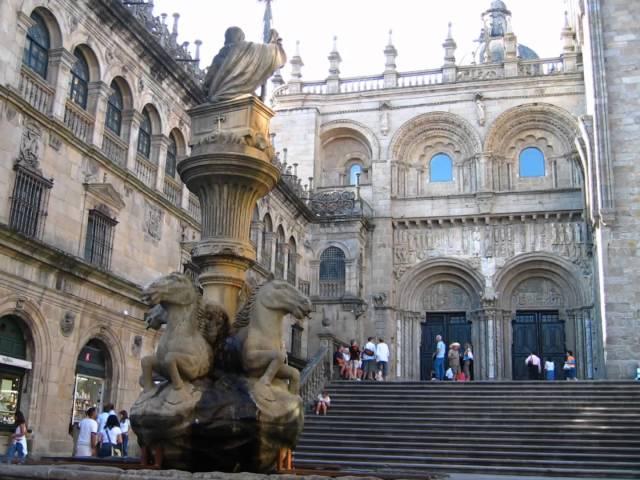Vídeo de presentación de Santiago de Compostela.