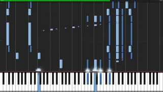 Overfly - Sword Art Online (Ending 2) [Piano Tutorial] (Synthesia) //TheIshter