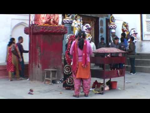 20091024091453 พระราชวังหนุมานโดกา และรูปปั้นหนุมานโดกา Kathmandu Nepal